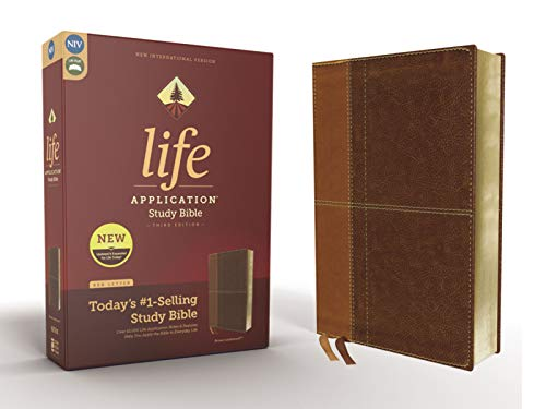 NIV Life Application Study Bible (3rd Edition, Brown Leathersoft)