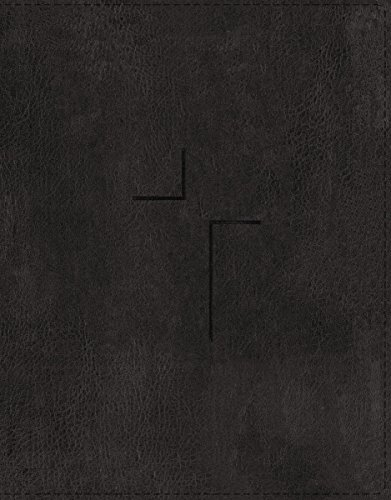 ESV The Jesus Bible (Thumb Indexed, Black Leathersoft)