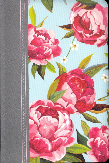 NIV Thinline Large Print Holy Bible (Floral Print Leathersoft)