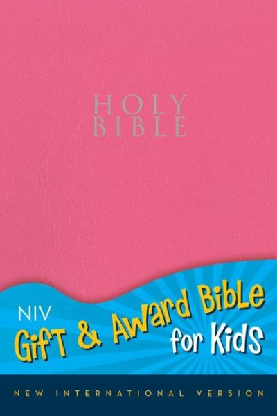 Niv Gift and Award Bible for Kids (Pink Leather-Look)