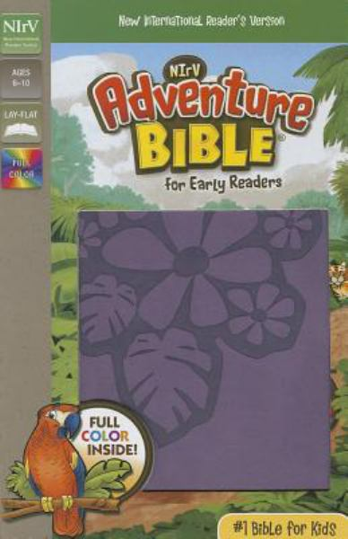 NIrV Adventure Bible for Early Readers (Tropical Purple IItalian Duo-Tone)