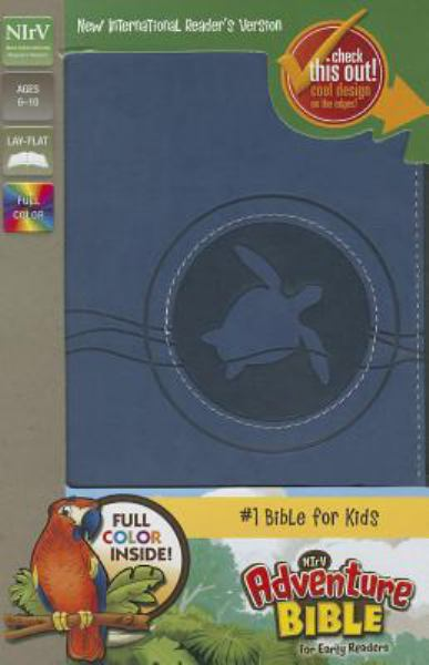 NIrV Adventure Bible for Early Readers (Blueberry Italian Duo-Tone)