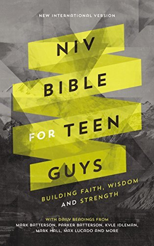 NIV Bible for Teen Guys