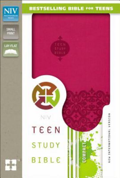 NIV Teen Study Bible (Cranberry Italian Duo-Tone)