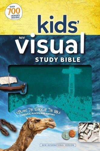 NIV Kids' Visual Study Bible (Teal Imitation Leather)