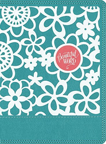 NIV Beautiful Word Coloring Bible for Girls (Teal Leathersoft)