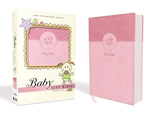 NIV Baby Gift Bible Keepsake Edition (Pink Leathersoft)