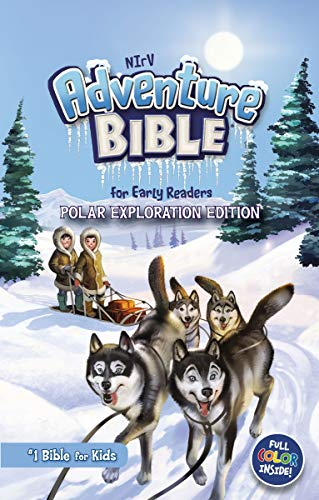 NIrV Adventure Bible for Early Readers (Polar Exploration Edition)