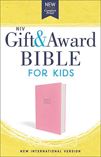 NIV Gift and Award Bible for Kids (Pink Flexcover)