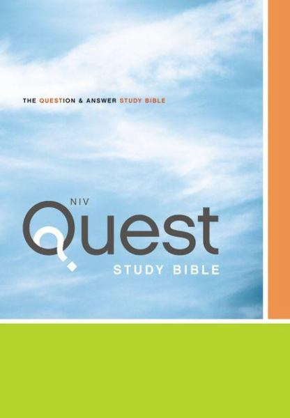 Quest Study Bible: The Question & Answer Study Bilbe (NIV)