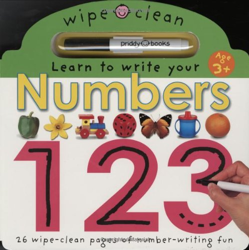 Learn To Write Your Numbers (Wipe Clean)