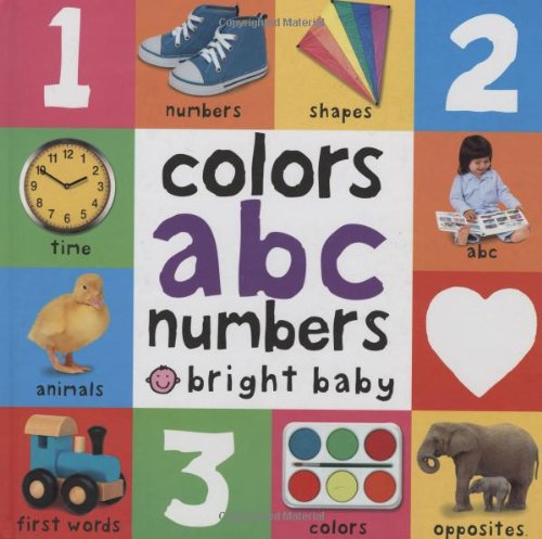 Colors, ABC, Numbers (Bright Baby)