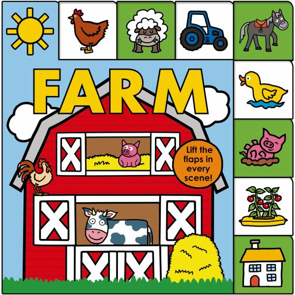 Farm (Lift-The-Flap Tab)