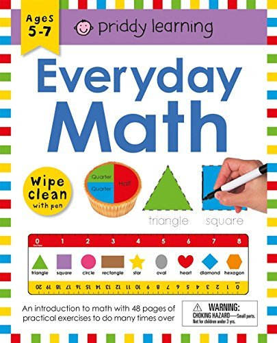 Everyday Math Wipe Clean Workbook With Pen (Priddy Learning)