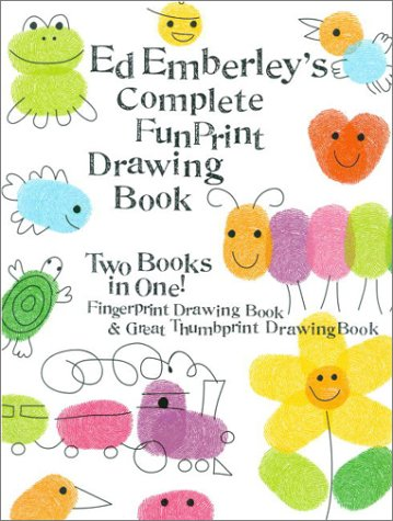 Ed Emberley's Complete Fun Print Drawing Book