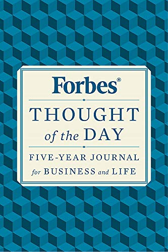 Forbes Thought of the Day: Five-Year Journal for Business and Life