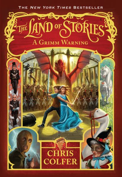 A Grimm Warning (The Land of Stories, Bk. 3)
