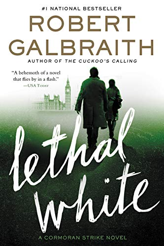 Lethal White (A Cormoran Strike Novel, Large Print)