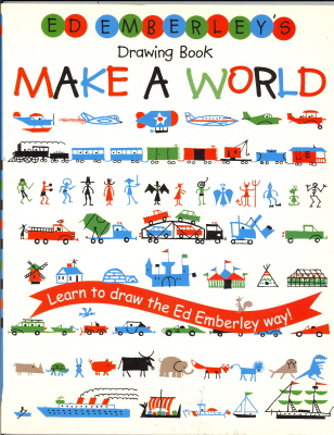 Ed Emberley's Make A Word Drawing Book