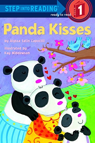 Panda Kisses (Step Into Reading, Level 1)