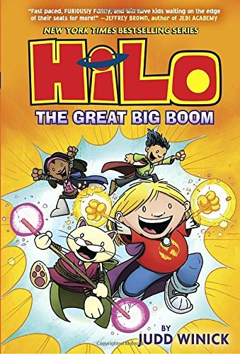The Great Big Boom (Hilo, Bk.3)