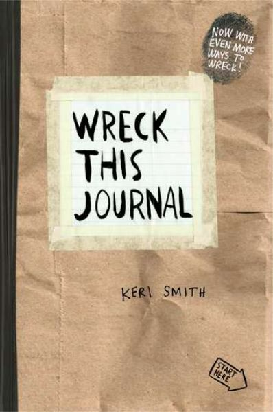 Wreck This Journal (Brown)
