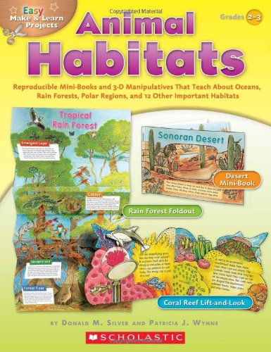 Easy Make & Learn Projects - Animal Habitats