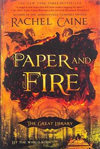 Paper and Fire (The Great Library, Bk. 2)