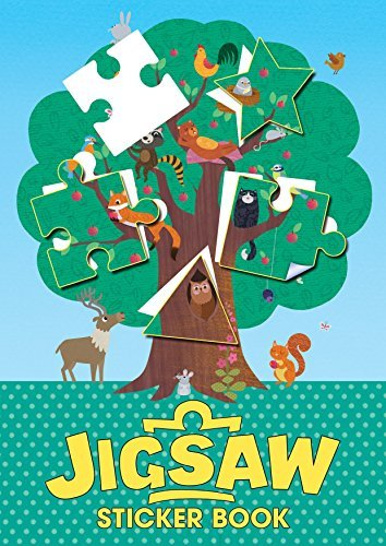 Jigsaw Sticker Book