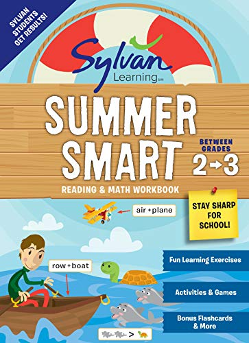 Summer Smart Reading & Math Workbook: Between Grades 2 & 3 (Sylvan Learning)