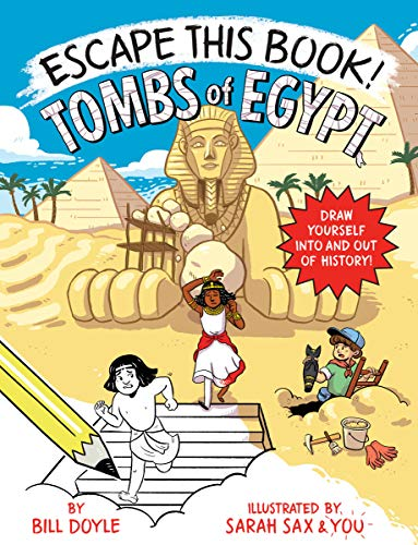 Tombs of Egypt (Escape this Book!)