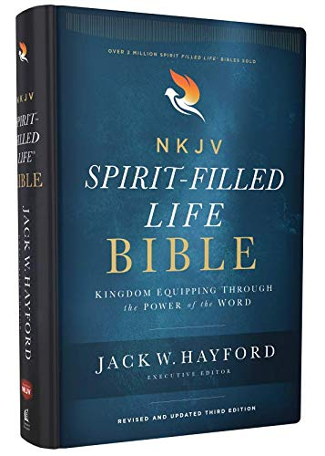NKJV Spirit-Filled Life Bible (2552 - Hardcover, Revised and Updated Third Edition)