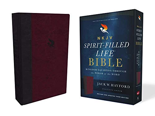 NKJV, Spirit-Filled Life Bible (2553BRG - Burgundy Leathersoft, Revised and Updated Third Edition)
