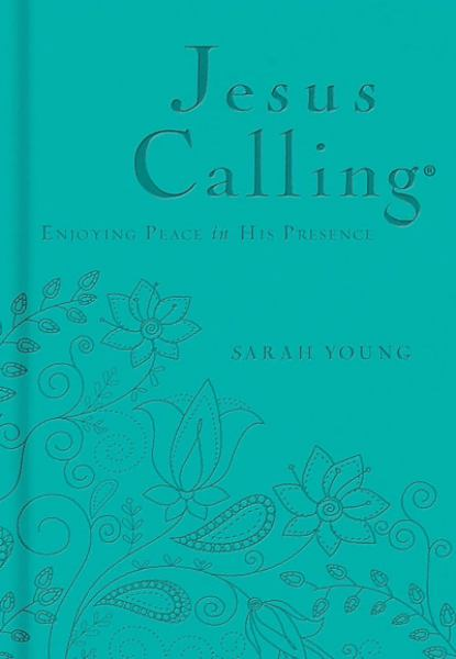 Jesus Calling - Enjoying Peace in His Presence (Teal, Leathersoft)