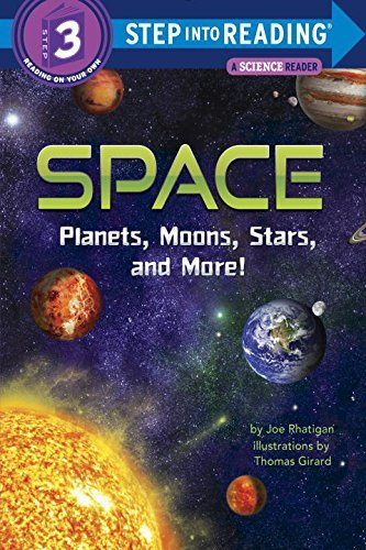 Space: Planets, Moons, Stars, and More! (Step into Reading, Level 3)