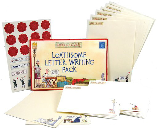 Loathsome Letter-Writing Pack (Horrible Histories)