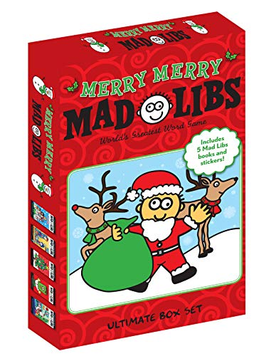 Merry Merry Mad Libs: Ultimate Box Set (Mad Libs)