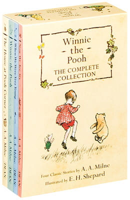 Winnie the Pooh the Complete Collection (Winnie-the-Pooh/The House at Pooh Corner/When We Were Very Young/Now We Are Six)