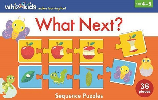 What Next? Sequence Puzzles (Whiz Kids)