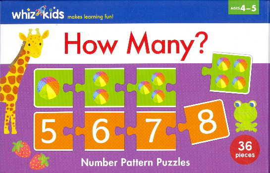 How Many?: Number Pattern Puzzles (Whiz Kids)