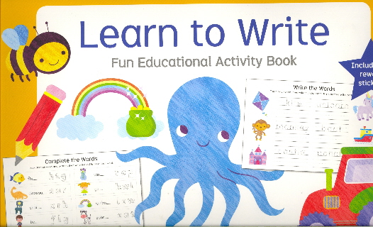 Learn to Write: Fun Educational Activity Book (Little Genius)