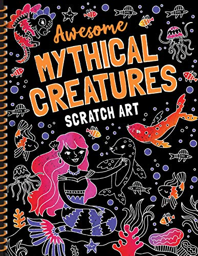 Mythical Creatures Scratch Art