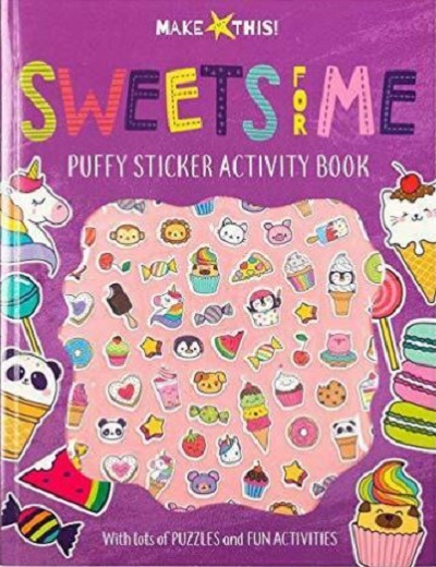 Sweets for Me Puffy Sticker Activity Book