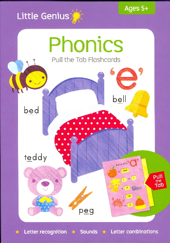 Phonics Pull the Tab Flashcards (Little Genius)