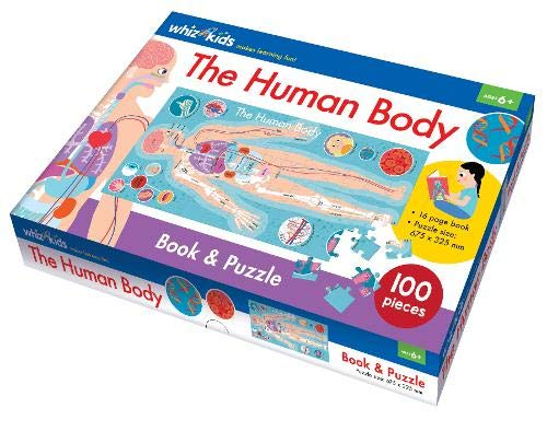 The Human Body Book and Jigsaw Puzzle (Whiz KIds)
