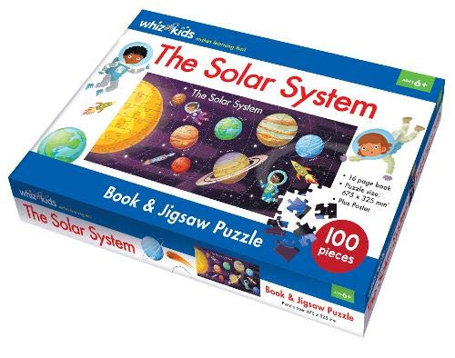 The Solar System Book and Jigsaw Puzzle (Whiz Kids)