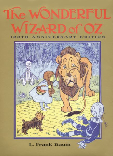 The Wonderful Wizard Of Oz (Books of Wonder, Bk # 1)