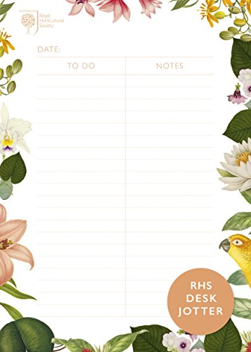 Royal Horticultural Society Desk Jotter