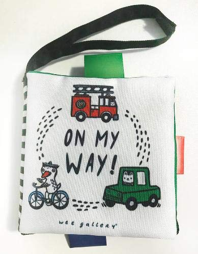 Stroller Books: On My Way (Wee Gallery Cloth Books)