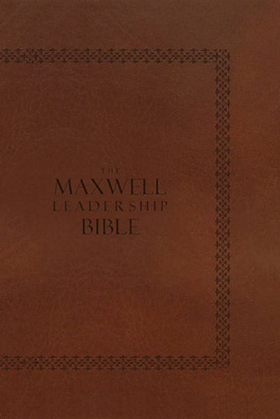 NIV The Maxwell Leadership Study Bible (4282, Coffee Bean Leathersoft)